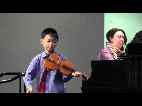 Ian Song- Violin Recital, Suzuki 2, Part 2 of 2