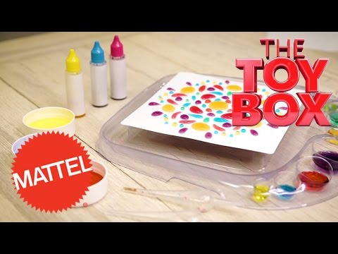 Mattel's Artsplash 3D Liquid Art: From The Toy Box To Toys