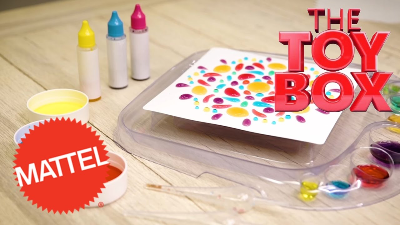 Toy Box Toys Mattel S Artsplash 3d Liquid Art From The Toy Box To Toys