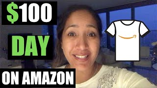How To Make $100 A Day Selling T-Shirts On Amazon Without Any Design Ideas - Working In (2020!)