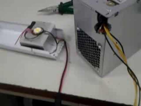 Luminaria de led 10w youtube for Luminarias de exterior led