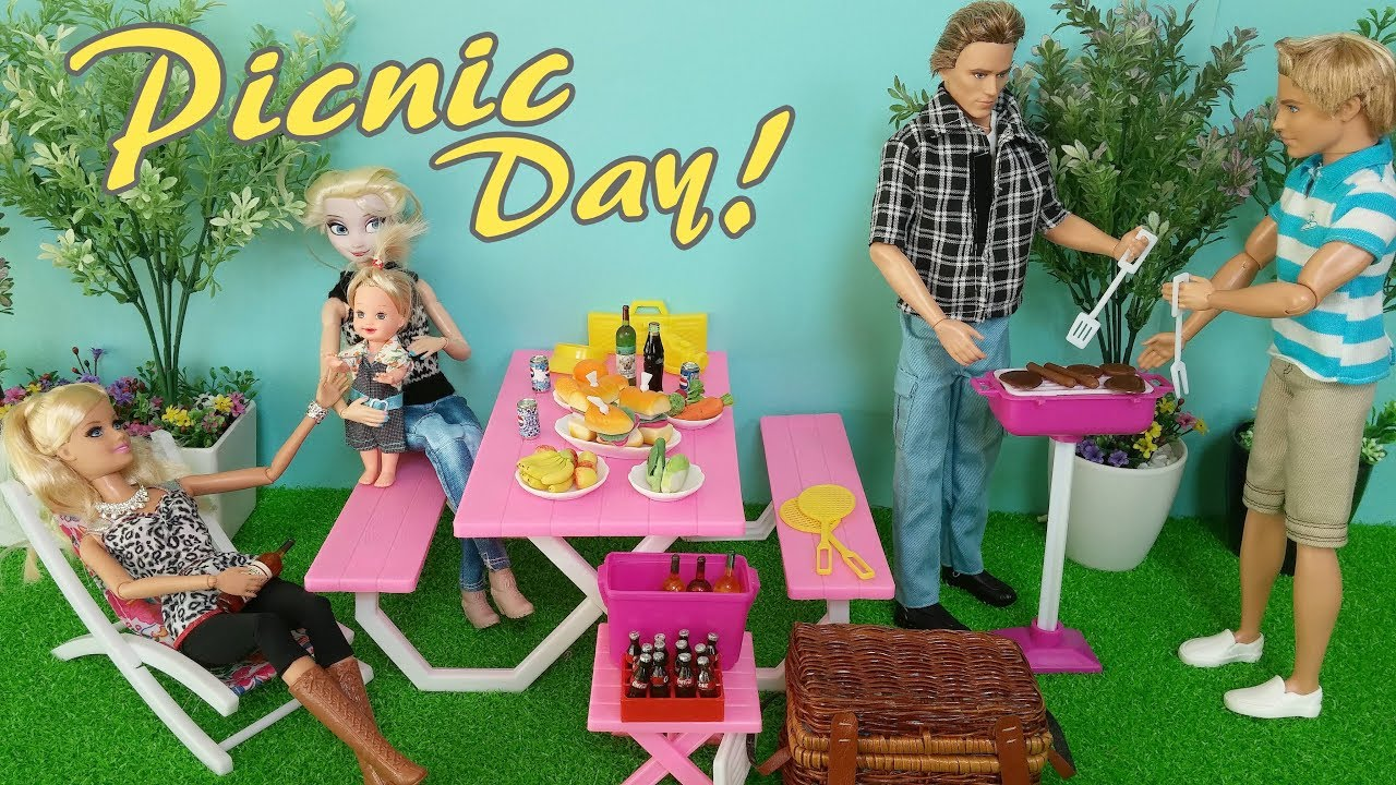 barbie picknick