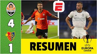 Shakhtar Donetsk 4-1 Basilea  RESUMEN | Boleto a semis de la Europa League. Inter de Milán lo espera