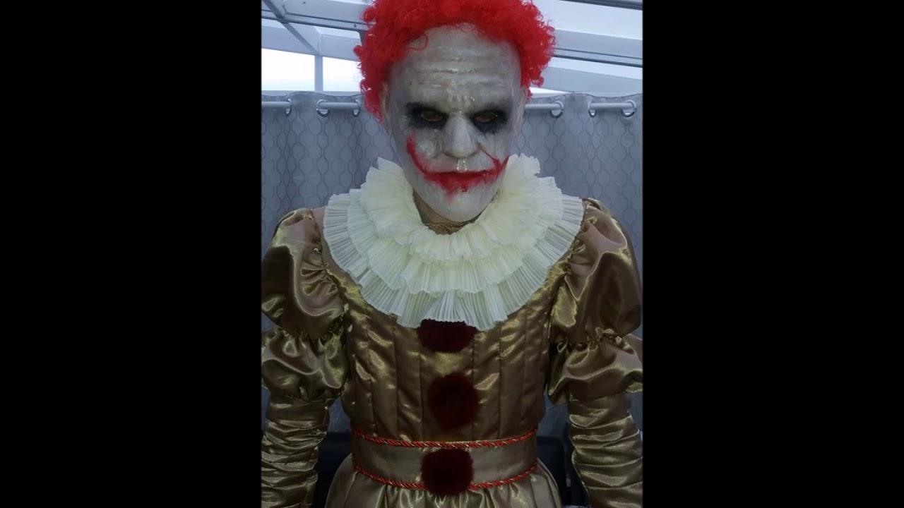 Stephen Kingu0027s IT Pennywise Clown Costume (2017 Version)  sc 1 st  YouTube & Stephen Kingu0027s IT Pennywise Clown Costume (2017 Version) - YouTube