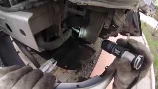 видео Замена радиатора, термостата на Cedia. Lancer 9.