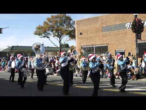 Hunter Huss High School Marching band Christmas