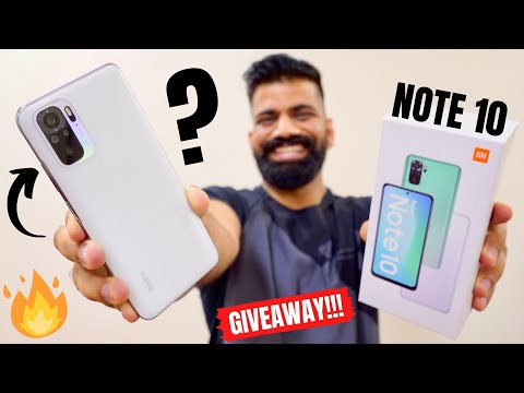 Redmi Note 10 Unboxing & First Look | The Perfect 10? GIVEAWAY