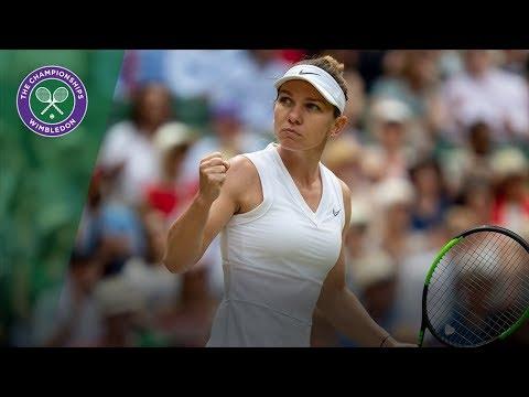 Simona Halep   Top 10 Points of Wimbledon 2019