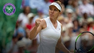 Simona Halep | Top 10 Points of Wimbledon 2019