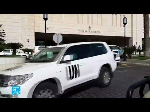 فريق أمني أممي يتعرض لإطلاق نار في مهمة استطلاعية في دوما  - نشر قبل 3 ساعة