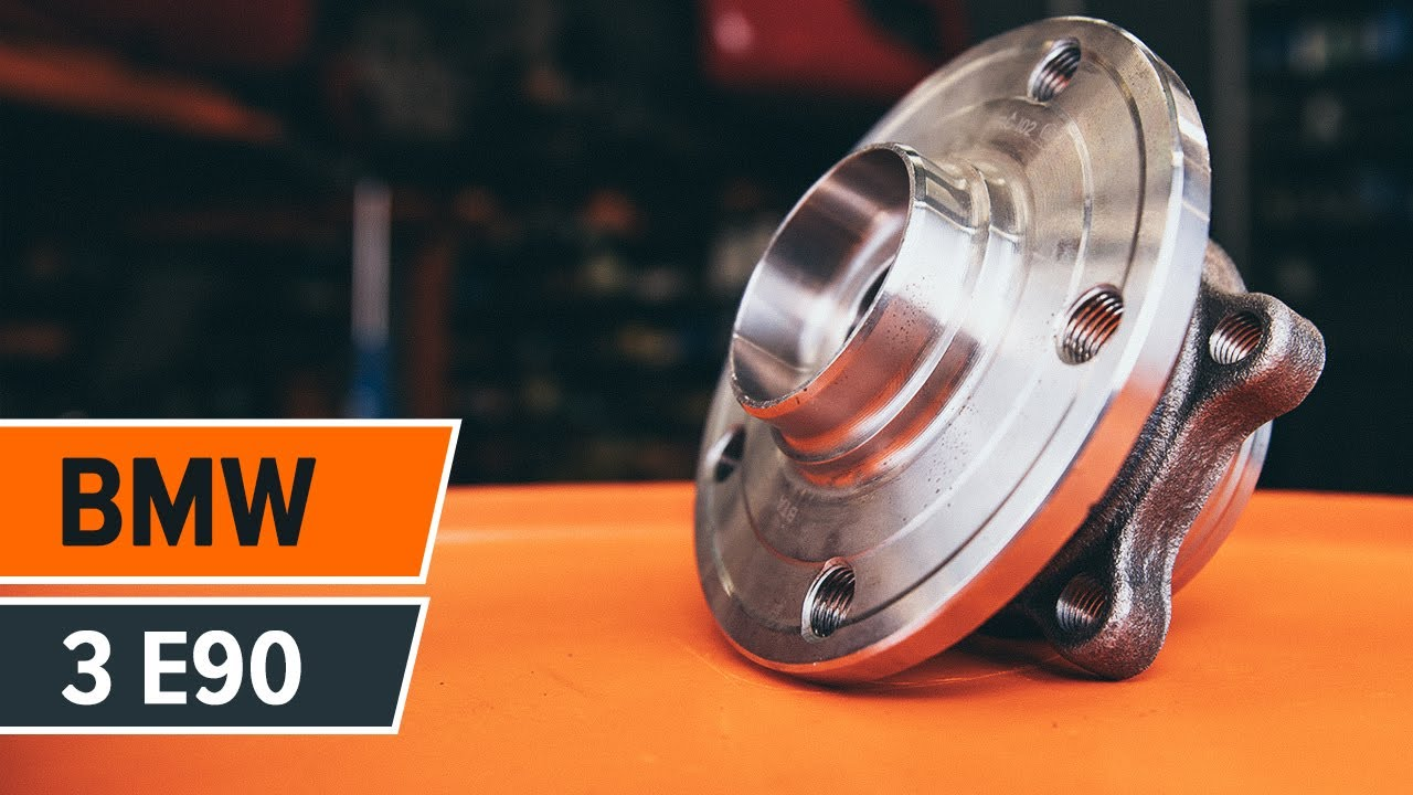 How to replace Front wheel bearing on BMW 3 E90 TUTORIAL | AUTODOC