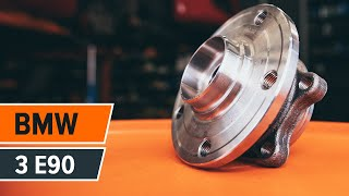 How to solve the problem with BMW rear and front Wheel hub bearing: video guide