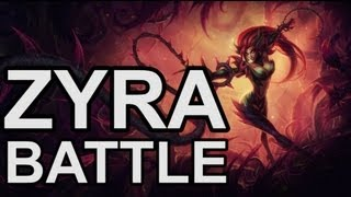 Zyra, Rise of the Thorns - Botany Battle - New Champion - League of Legends