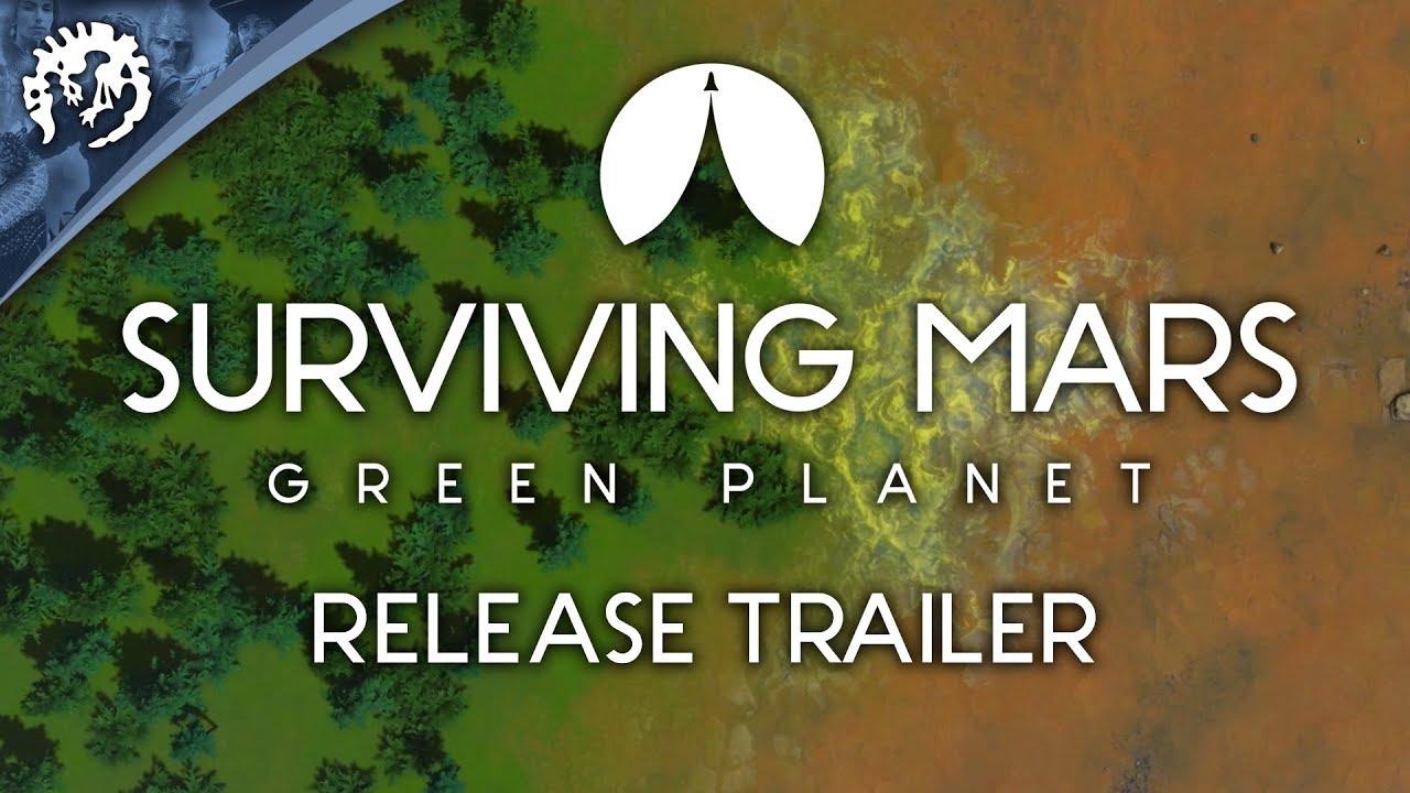 Surviving Mars: Green Planet | Paradox Interactive