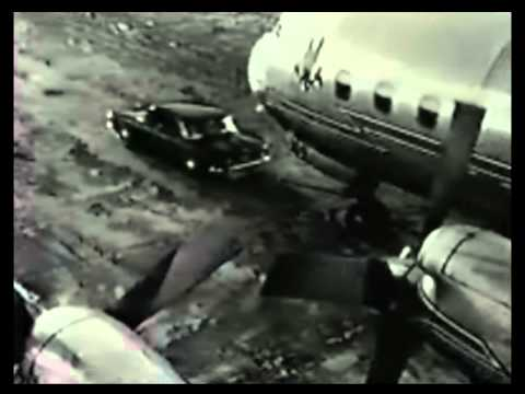 Chevrolet Corvair Vs Ford Falcon pulling an Airliner