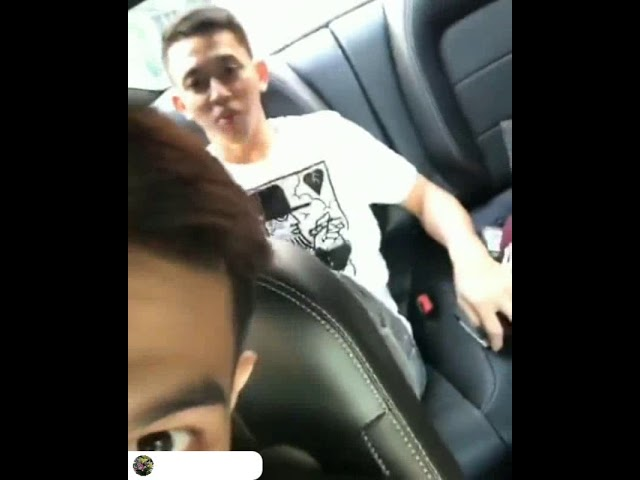 Fajar alfian live instagram dengan kevin sanjaya 2018