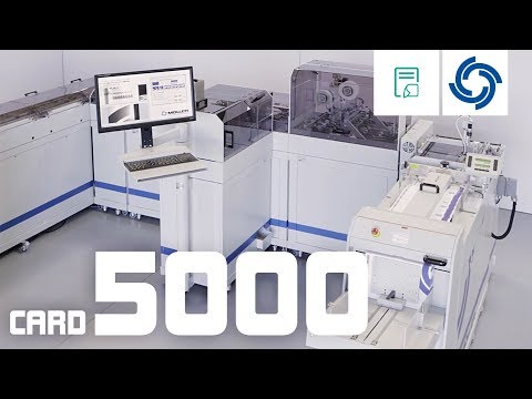 Müller Card 5000. Flexible Card Processing System