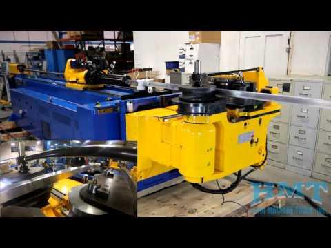Horn Metric 80TBRE Hybrid CNC Tube Bender - Aluminum Square Tube Draw & Roll Bending