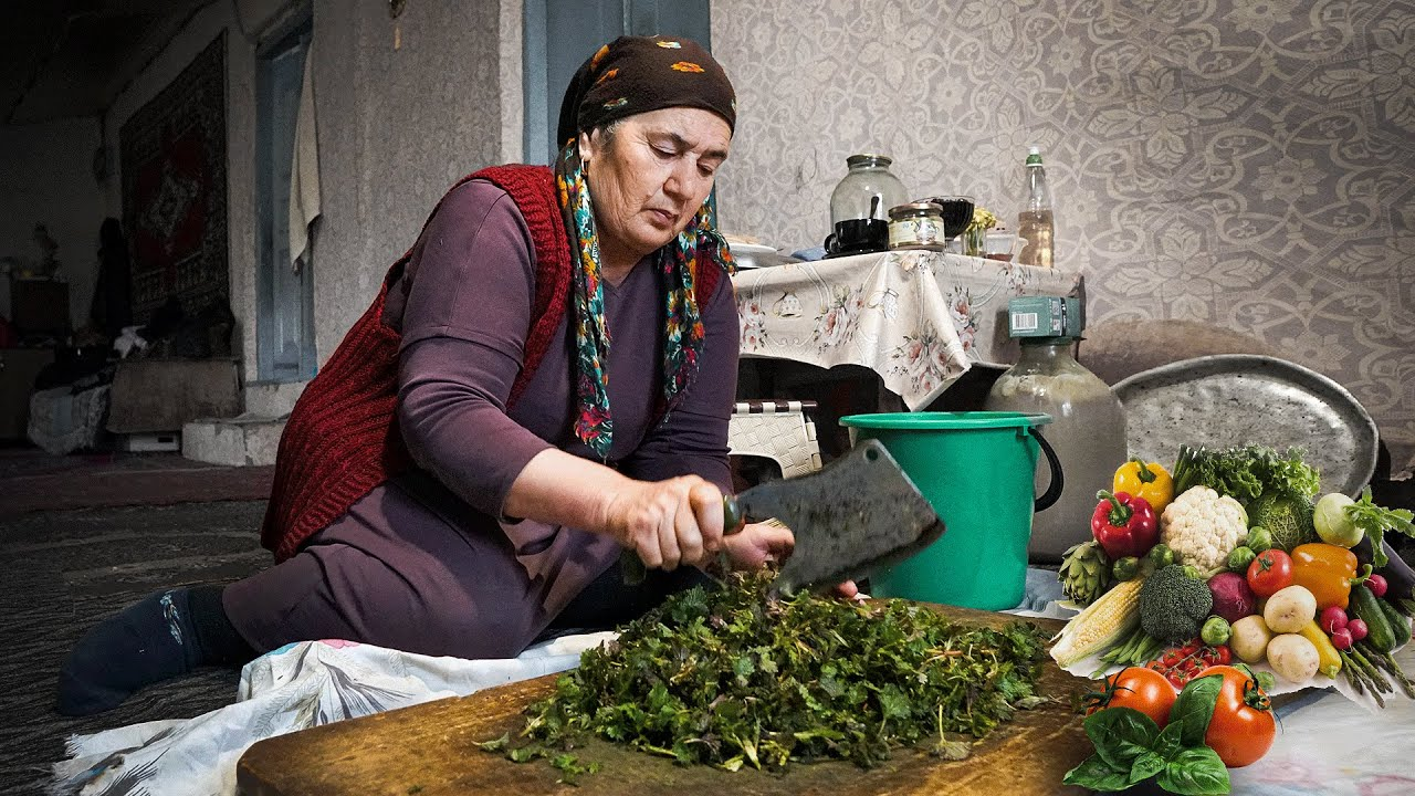 Download A Day at the Dargins' farm. DAGESTAN countryside life. Russia nowadays