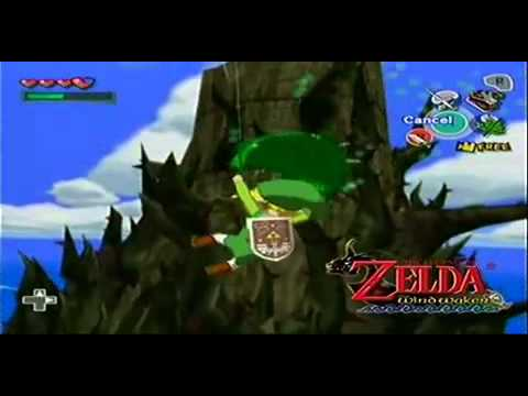 The Legend Of Zelda : The Wind Waker Trailer
