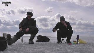 Закрытие зимнего сезона рыбалки со льда Челябинская область озеро Касли 18 апреля 2015 года