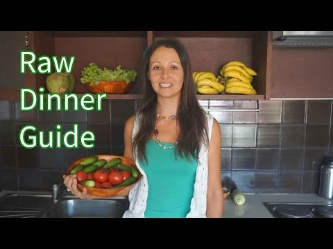 Day 1: Quick And Easy Raw Food Dinner Meal Plan Guide