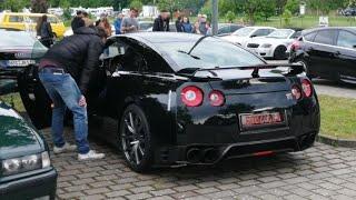 Das Auto mit lautesten coolsten Auspuffsound beim Tunig Treffen Eibelstadt Tunig Night Eibelstadt