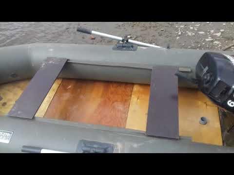 Как сделать пол в лодке своими руками
