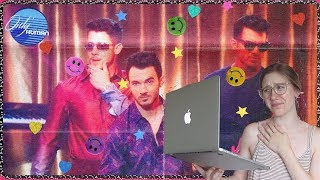 JONAS BROTHERS- ONLY HUMAN MUSIC VIDEO REACTION