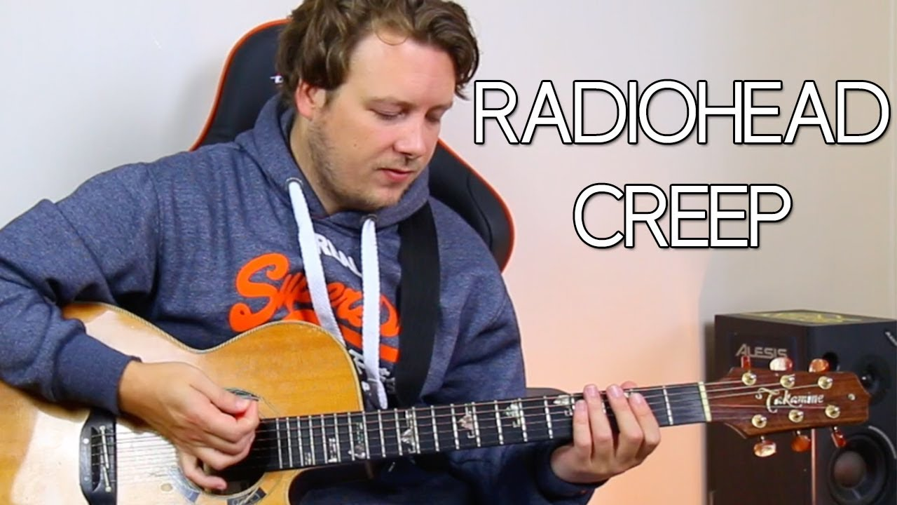 Radiohead Creep Guitar Chords Lesson Strumming Pattern For
