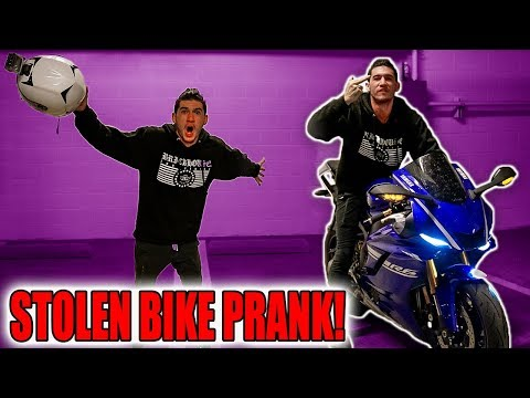 STEALING MY FRIENDS STREET BIKE PRANK!