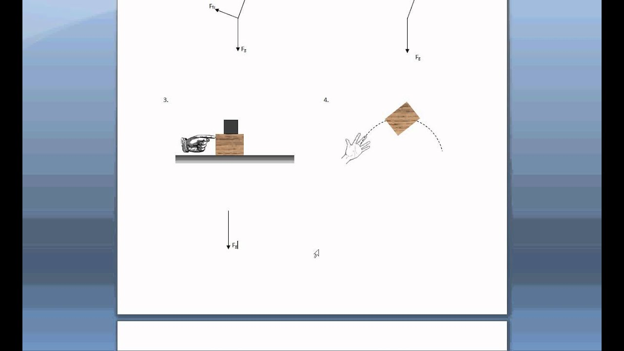 Drawing free body diagrams youtube ccuart Images