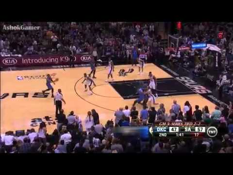 Thunder vs Spurs   Game 5   May 29, 2014   Full Game Highlights   NBA Playoffs 2014