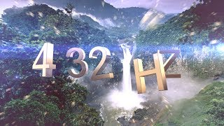 432 Hz : Meditation Deep Relaxation | Positive Energy (16 mins)