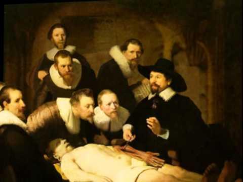 la lección de anatomía del Doctor Tulp 3D - YouTube
