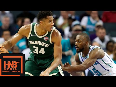 Milwaukee Bucks vs Charlotte Hornets Full Game Highlights | 10.17.2018, NBA Season