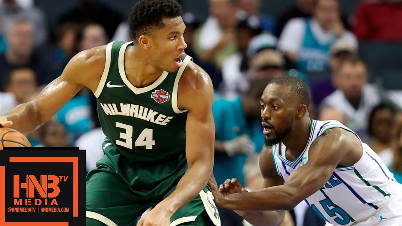 Milwaukee Bucks vs Charlotte Hornets Full Game Highlights | 10.17.2018, NBA Season