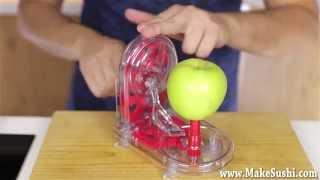 Insane Japanese Apple Peeler!