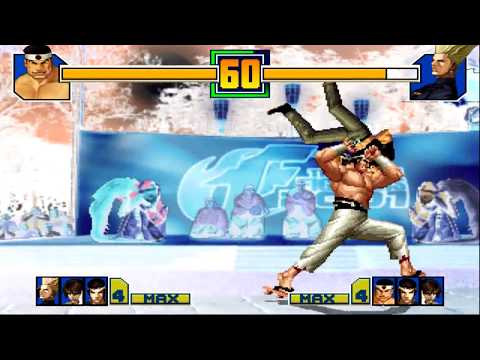 King of Fighters 2001 All Desperation Moves