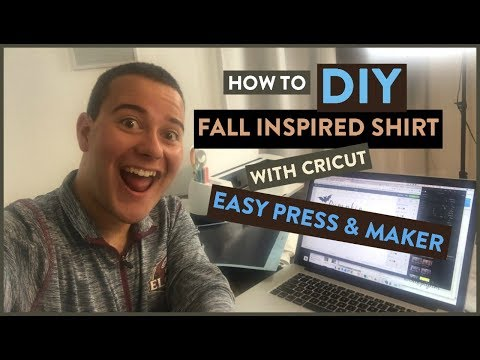 How To : DIY Fall Inspired Shirt with Cricut Easy Press & Maker