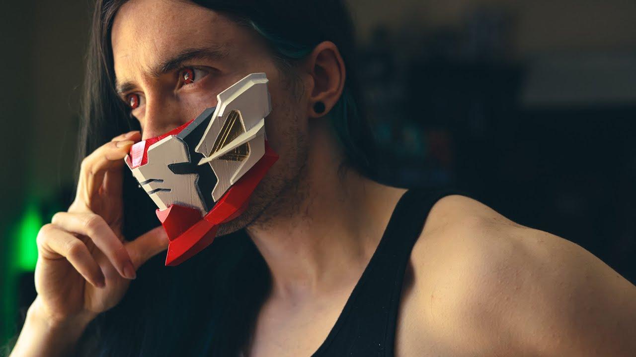 3D PRINTING GUNDAM   3D Printing Custom Mecha Masks