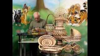 Плетение корзинок из лозы своими руками | Плетение из лозы легко и просто