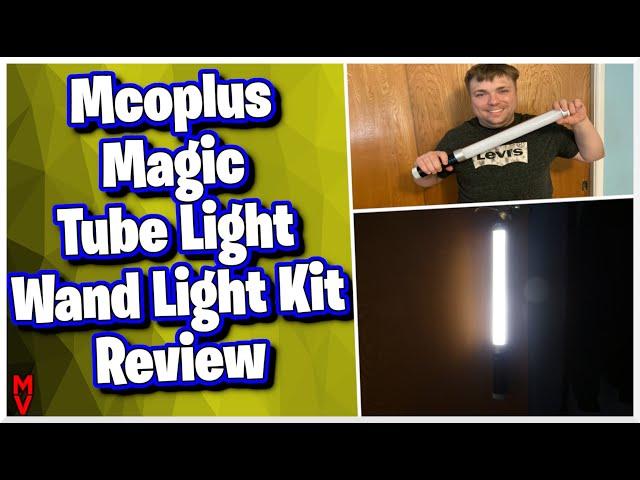 Must Have Light? || Mcoplus Magic Tube Light Wand Light Kit MumblesVideos Review