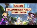 King's Raid - Magic Team Lineup Recommendation + Guide