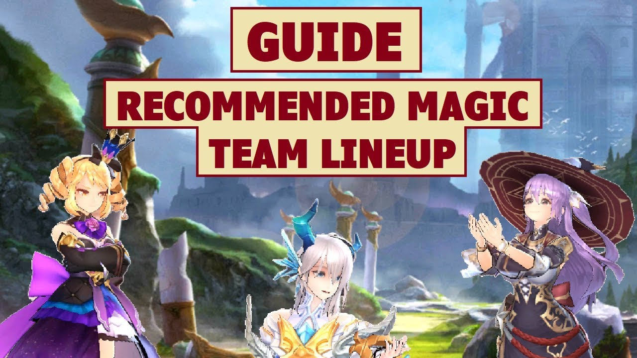 KingS Raid Best Tank 2019 King's Raid   Magic Team Lineup Recommendation + Guide   YouTube