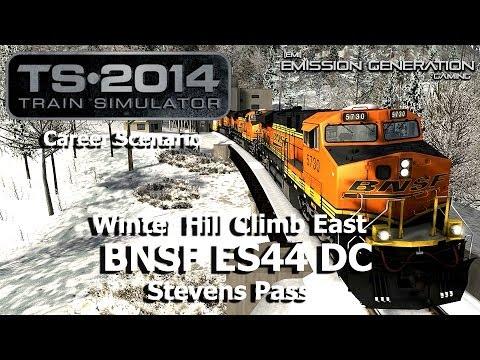 Winter Hill Climb East - Career Scenario - Train Simulator 2014