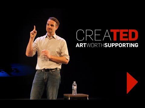 "Peter Sinn Nachtrieb CreaTED Talk on ""Making a Great Moment"""