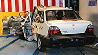 205. ARCAP | Daewoo Nexia/Cielo | 2002 | Crash test