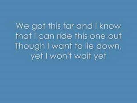 Superchick Not done yet lyrics