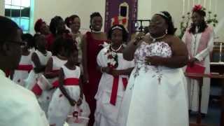 Bride Surprises Groom Singing Her Heart Out